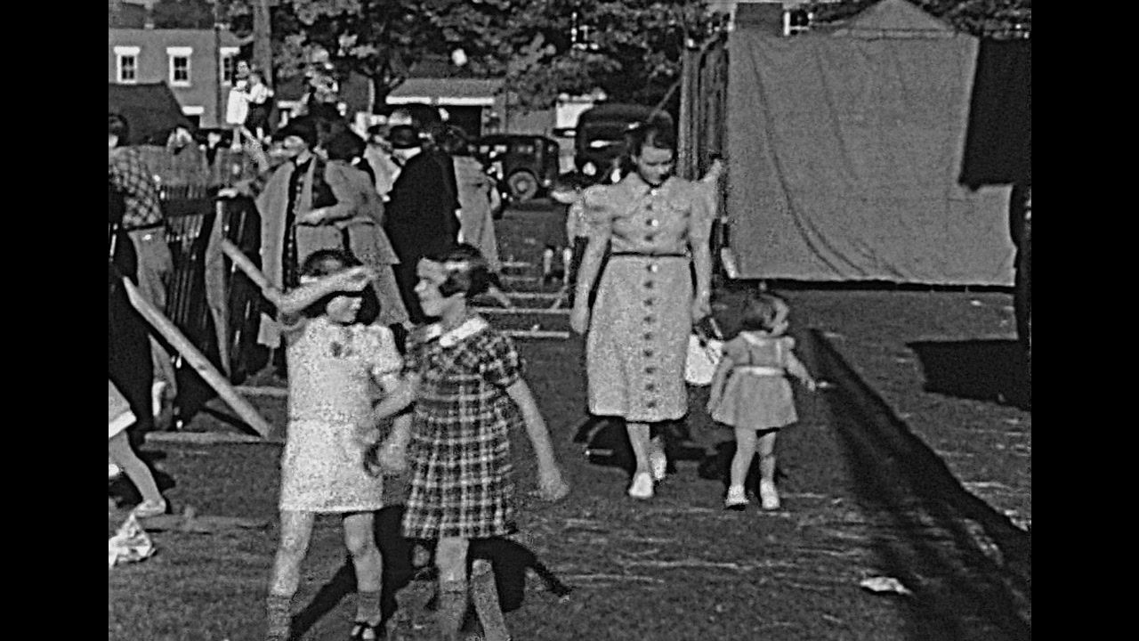 Sacramento County Fair 1938 archive footage