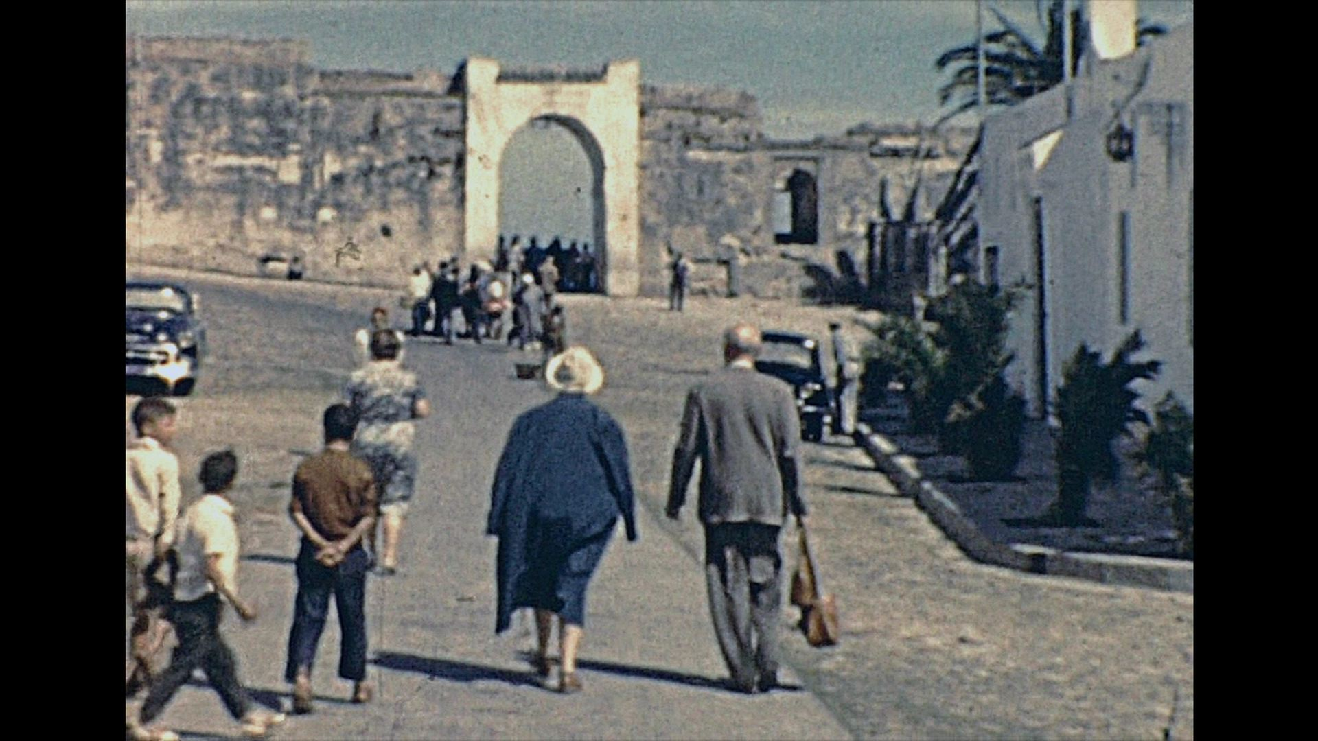 Morocco 1960 archive footage